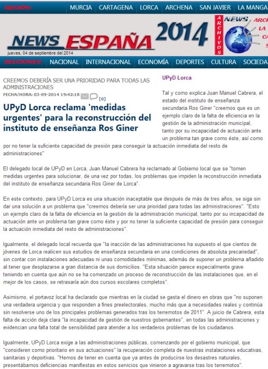 news españa