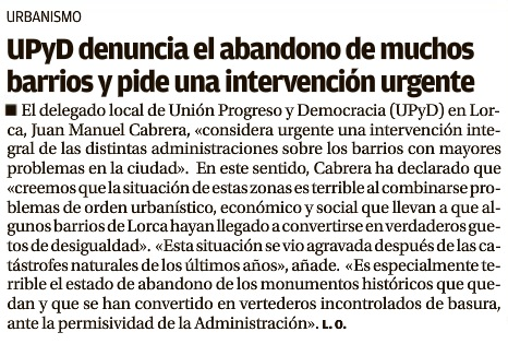 Estado barrios Lorca. LO. 17.02.2015.
